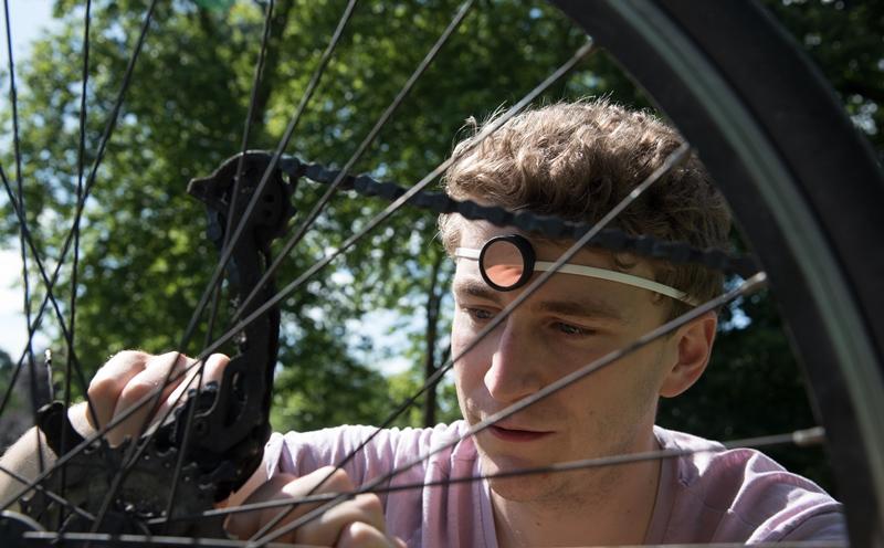 自転車修理のSENSEI