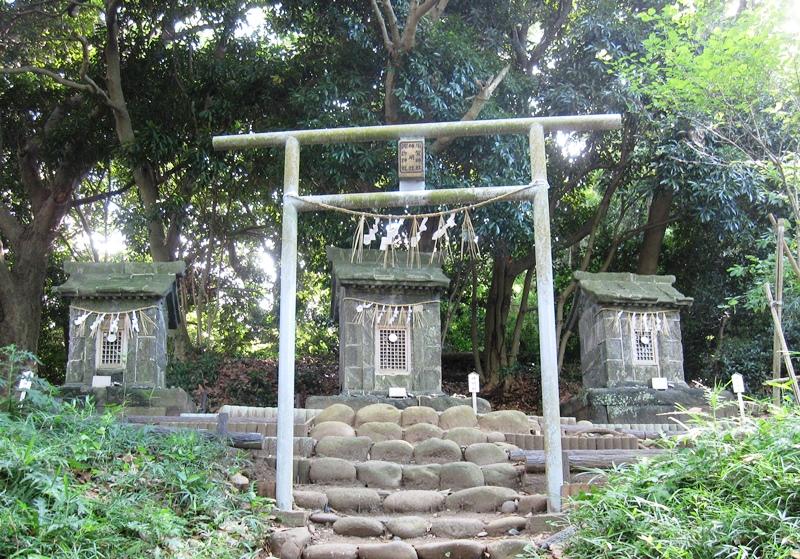 神明社,須賀神社,諏訪神社