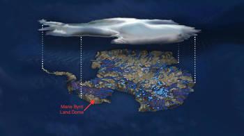 南極の火山